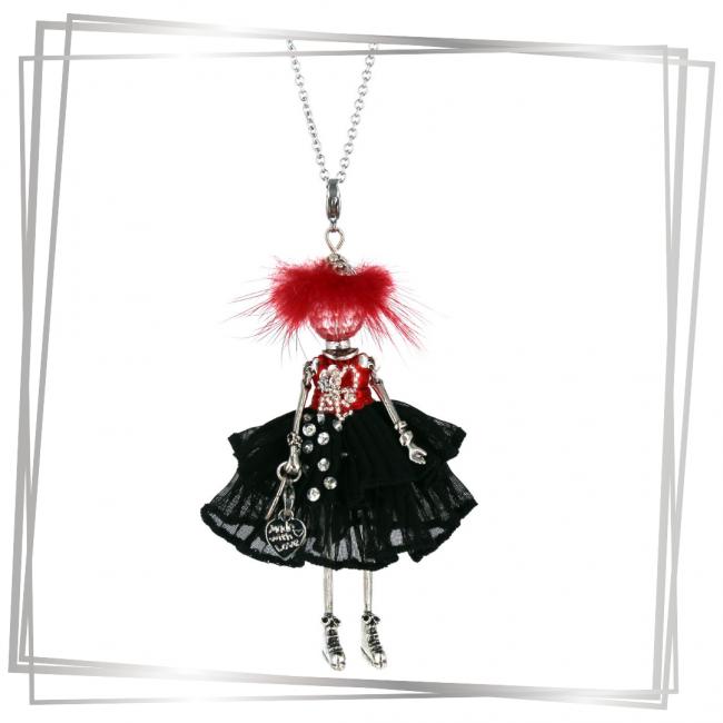 Pendentif poupée Amalia |Murmures d'une charmeuse||sautoir poupée|collier poupée |lithothérapie |pièce unique |bijoux fantaisie| collier personnalisé |bijoux personnalisé |collier fantaisie |bijou personnalisé|bijoux fantaisie de qualité|pendentif personnalisé bijoux fantaisie femme |créateur |bijoux personnalisé femme