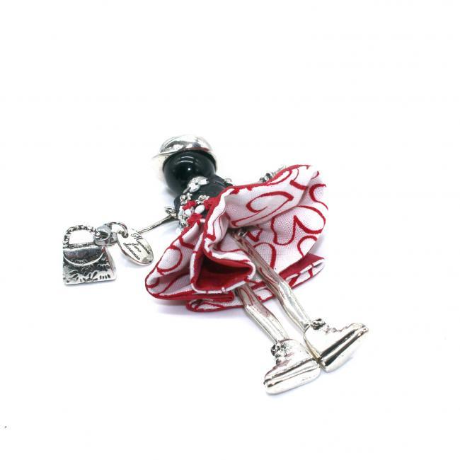 pendentif poupée Loanne|Murmures d'une charmeuse|Argent 925 | breloque |charm|sautoir poupée|collier poupée |lithothérapie |pièce unique |bijoux fantaisie| collier personnalisé |bijoux personnalisé |collier fantaisie |bijou personnalisé|bijoux fantaisie de qualité|pendentif personnalisé bijoux fantaisie femme |créateur |bijoux personnalisé femme