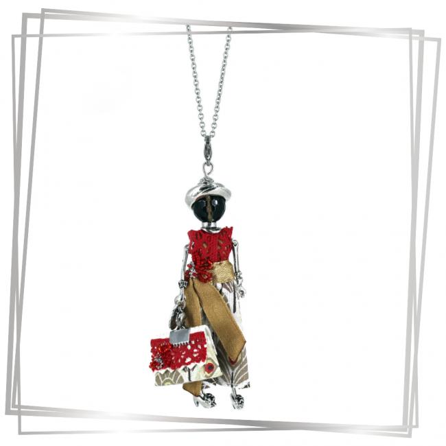 Pendentif poupée Anaelle |Murmures d'une charmeuse|sautoir poupée|collier poupée |lithothérapie |pièce unique |bijoux fantaisie| collier personnalisé |bijoux personnalisé |collier fantaisie |bijou personnalisé|bijoux fantaisie de qualité|pendentif personnalisé bijoux fantaisie femme |créateur |bijoux personnalisé femme |argent 925 |lithotérapie |pierre gemme