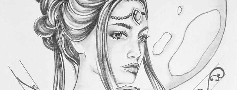 la déesse Aphrodite Murmures d'une charmeuse pendentifs poupées femme bijoux unique artisanat d'art