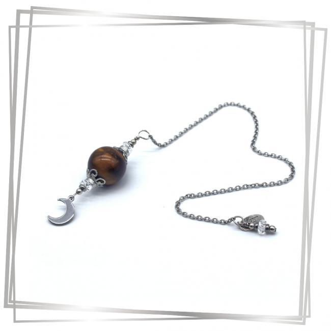 Pendule Mona |Murmures d'une charmeuse | radiesthésie pendule |pierres fines| |lithothérapie |pièce unique | talisman | |créateur |argent 925 |lithotérapie |pierre gemme | pendule divinatoire |pendule paris