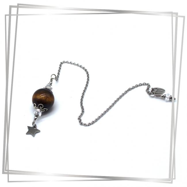 Pendule Astrée |Murmures d'une charmeuse | radiesthésie pendule |pierres fines| |lithothérapie |pièce unique | talisman | |créateur |argent 925 |lithotérapie |pierre gemme | pendule divinatoire |pendule paris