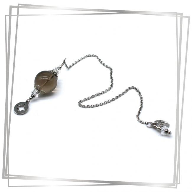 Pendule Calandra |Murmures d'une charmeuse | radiesthésie pendule |pierres fines| |lithothérapie |pièce unique | talisman | |créateur |argent 925 |lithotérapie |pierre gemme | pendule divinatoire |pendule paris