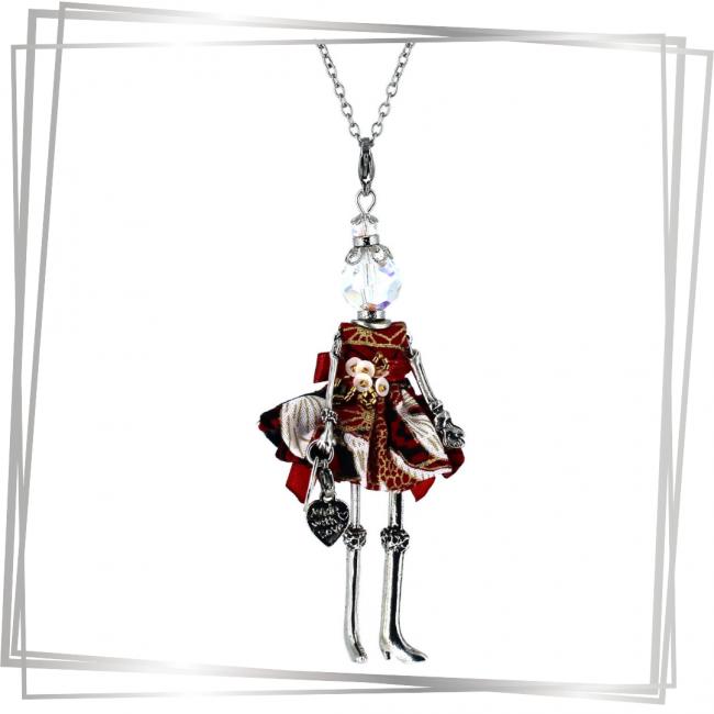 Pendentif poupée Sakura | bijou tendance |Murmures d'une charmeuse |japon |kimono | pierres fines | sautoir poupée|collier poupée | lithothérapie |pièce unique |déesse | talisman |bijoux fantaisie| collier personnalisé |bijoux personnalisé |collier fantaisie |bijou personnalisé|bijoux fantaisie de qualité|pendentif personnalisé bijoux fantaisie femme |créateur |bijoux personnalisé femme |argent 925 |lithotérapie |pierre gemme |