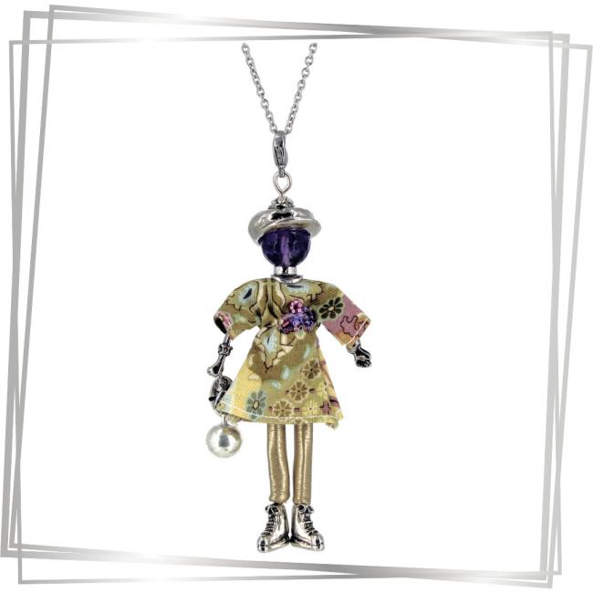 Pendentif poupée Love|bijoux grossesse |bijoux femme enceinte |bola de grossesse | bijou tendance |Murmures d'une charmeuse | pierres fines | sautoir poupée|collier poupée | lithothérapie |pièce unique |déesse | talisman |bijoux fantaisie| collier personnalisé |bijoux personnalisé |collier fantaisie |bijou personnalisé|bijoux fantaisie de qualité|pendentif personnalisé bijoux fantaisie femme |créateur |bijoux personnalisé femme |argent 925 |lithotérapie |pierre gemme | Amethyste