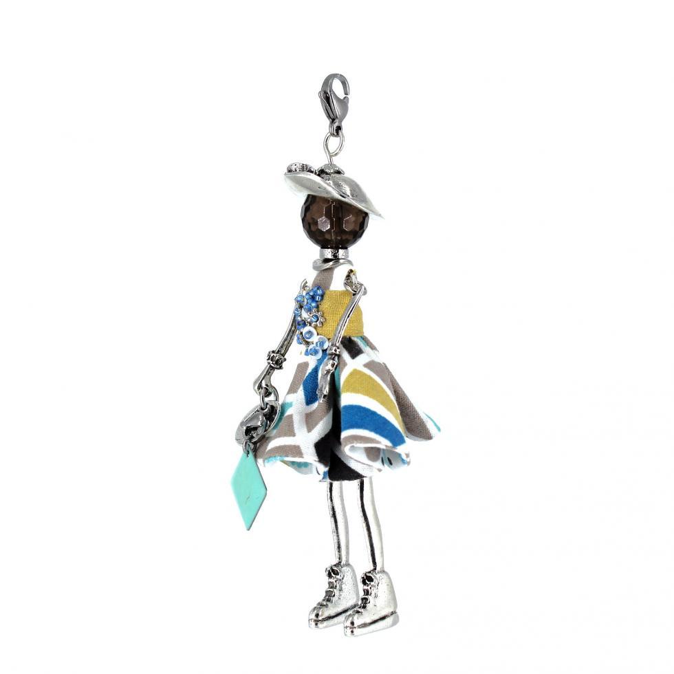 Pendentif poupée Clervie | bijou tendance |Murmures d'une charmeuse | pierres fines | sautoir poupée|collier poupée | lithothérapie |pièce unique |déesse | talisman |bijoux fantaisie| collier personnalisé |bijoux personnalisé |collier fantaisie |bijou personnalisé|bijoux fantaisie de qualité|pendentif personnalisé bijoux fantaisie femme |créateur |bijoux personnalisé femme |argent 925 |lithotérapie |pierre gemme | Quartz fumé