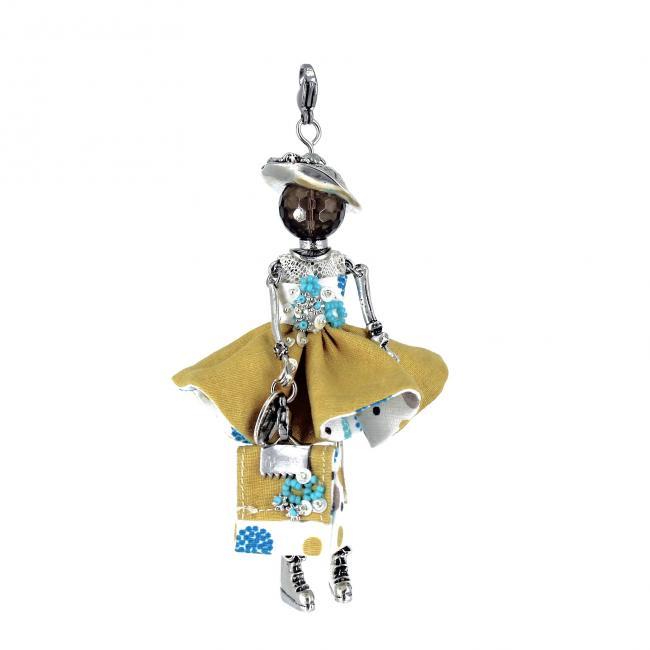 Pendentif poupée Eoline | bijou tendance |Murmures d'une charmeuse | pierres fines | sautoir poupée|collier poupée | lithothérapie |pièce unique |déesse | talisman |bijoux fantaisie| collier personnalisé |bijoux personnalisé |collier fantaisie |bijou personnalisé|bijoux fantaisie de qualité|pendentif personnalisé bijoux fantaisie femme |créateur |bijoux personnalisé femme |argent 925 |lithotérapie |pierre gemme | Quartz fumé