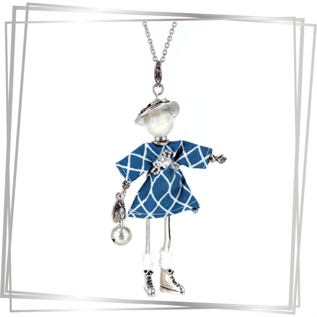 Pendentif poupée Lyssia | bijou tendance |Murmures d'une charmeuse | pierres fines | sautoir poupée| bijou de grossesse | bola de grossesse |collier poupée | lithothérapie |pièce unique |déesse | talisman |bijoux fantaisie| collier personnalisé |bijoux personnalisé |collier fantaisie |bijou personnalisé|bijoux fantaisie de qualité|pendentif personnalisé bijoux fantaisie femme |créateur |bijoux personnalisé femme |argent 925 |lithotérapie |pierre gemme |