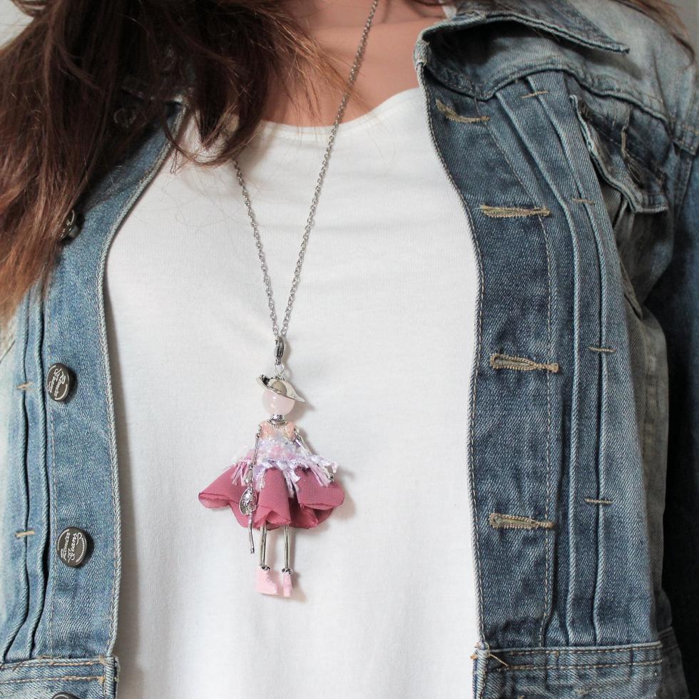 bijou fantaisie pour femme |Murmures d'une charmeuse | bijoux fantaisie| collier personnalisé| sautoir poupée| collier poupée | lithothérapie |pièce unique | bijoux artisanaux | talisman |bijoux fantaisies| |bijoux personnalisé |collier fantaisie