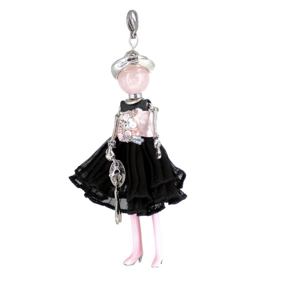 Bijou quartz rose |Octobre rose ||Murmures d'une charmeuse | bijoux fantaisie| collier personnalisé| sautoir poupée| collier poupée | lithothérapie |pièce unique | bijoux artisanaux | talisman |bijoux fantaisie| |bijoux personnalisé |collier fantaisie